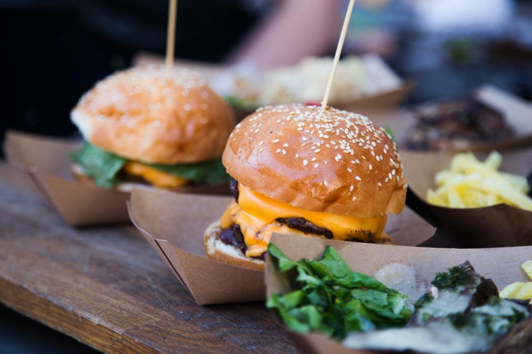 Takeaway burgers